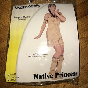 Other - Native princess large L Halloween costume